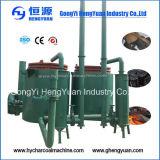 Máquina baja de la carbonización del carbón de leña de madera de la consumición