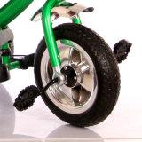 Tricyle 아이 세발자전거가 빨간 청록색 3 색깔 선택 아기 세발자전거에 의하여 농담을 한다