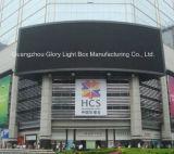 P10 LED de grande taille polychrome extérieure annonçant l'affichage
