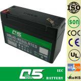 4V3.2AH, batterie peut personnaliser 3AH, 3.8AH, rechargeable, pour la lumière Emergency, lampe solaire de jardin, lanterne solaire, lumières campantes solaires, torche solaire, ventilateur solaire
