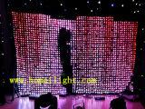 3 * 4m Vídeo Cloth LED con CE decoración del partido