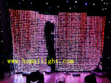 3 * 4m Vídeo Cloth LED con CE decoración del partido