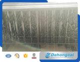 장식적인 주거 현대 단철 담 (dhwallfence-6)