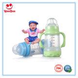 Shock-Proof breiter Stutzen-Glasmilchflaschen 180ml/240ml