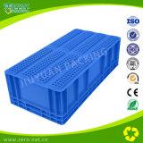 EU 콘테이너는 플라스틱 저장 회전율 상자를 분해한다