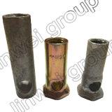 Socket de elevación de la virola del pie del elefante en los accesorios del concreto de prefabricación (M20X70)
