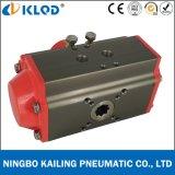 Actuador neumático temporario doble Klat-63D de la vávula de bola