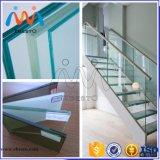 Стекло Railing поручня здания лестницы надувательства ясное Tempered прокатанное