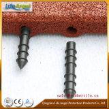 Плитки Pin-Hole резиновый, напольная резиновый плитка, цветастый резиновый Paver