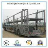 高品質の中国の製造の頑丈な自動車運搬船のトラックのトレーラー