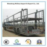 Remorque lourde de camion de transporteur de véhicule de fabrication