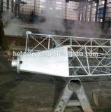 De gegalvaniseerde die Toren van de Telecommunicatie van de Lijn van Guyed van het Staal in China wordt gemaakt