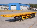다중 차축 40t/45t 판매 (LAT9390P)를 위한 평상형 트레일러 콘테이너 트레일러