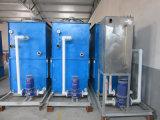 1.5ton fusión del aluminio horno de inducción