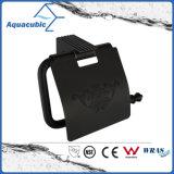 Titular de montaje en pared simple vaso de Negro (AA9215)