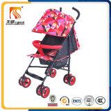 Wandelwagens 8 van de Carrier van de Baby van Tianshun van de fabrikant de Wandelwagen van de Kinderwagen van de Baby van de Wielen van EVA
