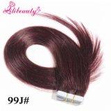 Лента 100% девственницы Remy оптовой продажи фабрики людская в выдвижении человеческих волос