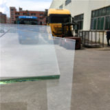 Vidrio reflexivo del espejo gris oscuro del espejo de cristal 12m m de la mesa de centro del espejo del vector del restaurante