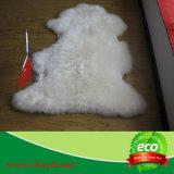 Coperta molle naturale della pelle di pecora di fabbrica del commercio all'ingrosso cinese di prezzi