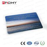 Carte blanche de PVC de lustre de MIFARE DESFire EV2 2k