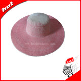 Mulheres chapéu, chapéu de palha, chapéu flexível, chapéu de papel flexível, chapéu de papel