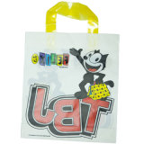 Loop 2014 Handle Polybag avec Customized Logo et Design, Plastic Shopping Bag, Promotional Bag (HF-508)