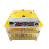 Incubateur automatique approuvé de 132 de caille de la CE de bonne qualité des oeufs 96 oeufs de poulet (KP-96)
