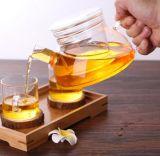 ヨーロッパのホウケイ酸塩の花の茶鍋、コーヒー鍋のための熱い販売