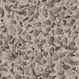 Artificial/homem fêz a pedra de quartzo para a bancada, Worktop, folheado