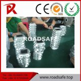 LEIDENE van het Oog van de Kat van Roadsafe de Weerspiegelende ZonneNagel die van de Weg de Lichte Nagel van de Weg van het Aluminium opvlammen