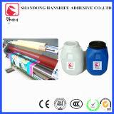 Pegamento caliente a base de agua de la laminación para la película de BOPP con la laminación de papel