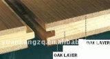 Suelo de madera dirigido entarimado francés del roble de las obras clásicas