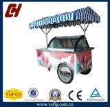 Carro italiano do indicador do gelado do carro/do carro do gelado/congelador de Gelato