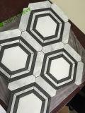 Mosaico de mármore branco barato novo
