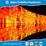 Mur visuel de publicité coloré de la définition élevée DEL pour l'étalage extérieur d'exposition