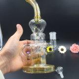 Reciclador de vidro Fumed prata da água de Bontek para fumar