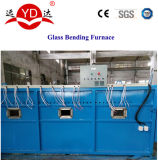 Máquina de dobra de processamento quente de vidro da fornalha da tabela/mesa