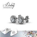 Swarovskiの楽なイヤリングからの運命の宝石類の水晶
