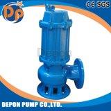 Pompe à eau encrassée submersible d'acier inoxydable