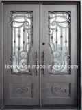 Стальная дверь с Tempered стеклом и экраном
