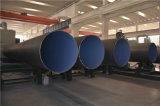 La pipe en acier est 3PE de Weifang enduite a vu la pipe en acier