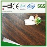 plancher de stratifié de bois dur de surface de foulage de Brown de la CE de 8mm