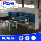 Tipo servo elétrico máquina de perfuração do CNC com auto série do tipo máquina do deslocamento predeterminado 2017 do perfurador do CNC