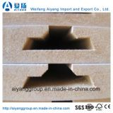 18mm Melamine Laminated Slotted MDF Board voor MDF Wall Panel