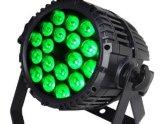 12PCS/18PCS 4 dans 1 lampe imperméable à l'eau polychrome de PARITÉ pour la lumière de musique de discos de lampe d'usager de club