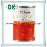 Conserve de fruits cerise fraîche