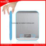 Escala elétrica do alimento 5000g/1g da plataforma do aço inoxidável da escala da cozinha de Digitas