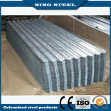A melhor qualidade Az100G / M2 Hot Dipped Al-Zn Steel Roofing Tile
