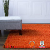Moquette Shaggy solida della coperta di zona dell'arancio 5*8 del salone & della camera da letto della coperta di tessuto felpato