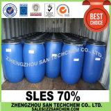 Solfato laurico dell'etere del sodio caldo di vendita SLES 70% per il detersivo